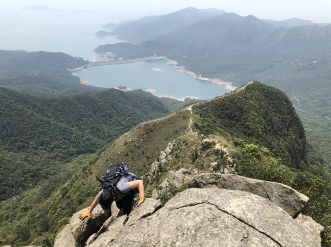 Hiking 6.4.2019 West Kau Nga Ling (38)